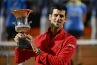 Roma Açık'ta zafer Djokovic'in