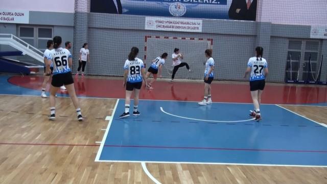 Yozgat'ta hentbol heyecanı