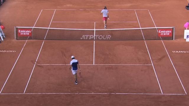 Hamburg Açık Tenis turnuvasında heyecan sürüyor