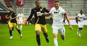 Dortmund'a Augsburg çelmesi