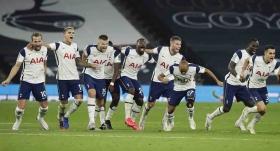 İngiltere Lig Kupası'nda ilk çeyrek finalist Tottenham