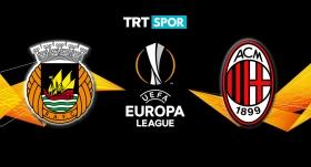 Rio Ave-Milan maçı TRTSPOR'da