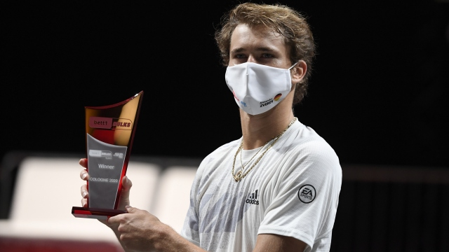 Köln'de zafer Zverev'in