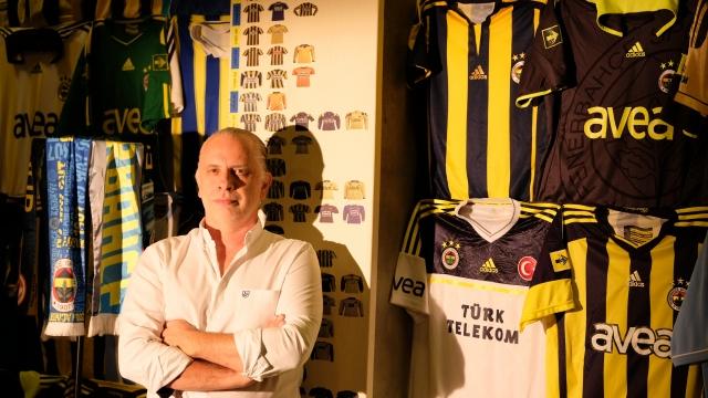 Bu dükkanda her yer Fenerbahçe