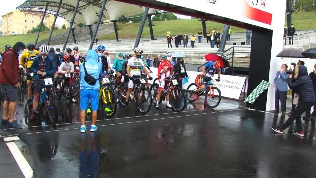 Sakarya'da dağ bisikleti heyecanı