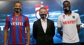 Trabzonspor'da Hugo ve Semedo için imza töreni