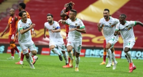 Alanyaspor, Galatasaray'ı 90+5'te geçti