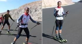 Asfalt yolda çalışan Seher'in hedefi olimpiyat