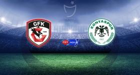 Gaziantep FK Konyaspor'u konuk ediyor