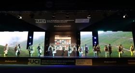 2020 Dağ Bisikleti Maraton Dünya Şampiyonası açılış seremonisi yapıldı