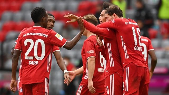 Bundesliga 5.Hafta| Bayern Münih - Frankfurt (Özet)