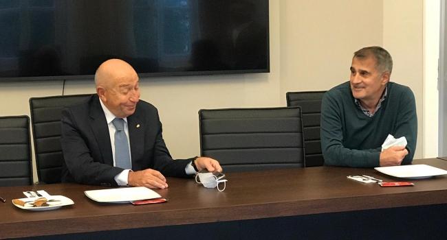 TFF Başkanı Nihat Özdemir, Şenol Güneş'le bir araya geldi - TRT Spor - Türkiye`nin güncel spor haber kaynağı