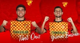 Göztepe'de 2 futbolcuya profesyonel sözleşme