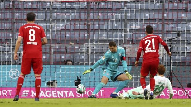 Bundesliga 8. hafta | Bayern Münih - Werder Bremen (özet)