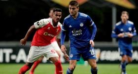 Cengizli Leicester City gruptan çıkmayı garantiledi