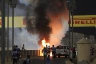 Bahreyn GP'de kazalar