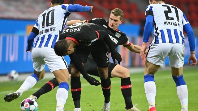 Bundesliga 9.Hafta | Leverkusen - Hertha Berlin (Özet)