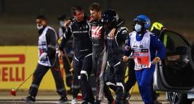 Grosjean, Sakhir Grand Prix'sinde yok