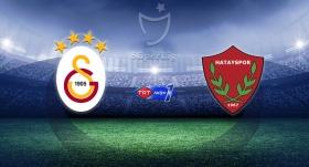 Galatasaray, Hatayspor'u ağırlıyor