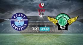 Adana Demirspor - Akhisarspor maçı TRT SPOR'da
