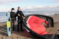 Karadeniz'de uçurtma sörfü yaygınlaşıyor Haberinin Görseli