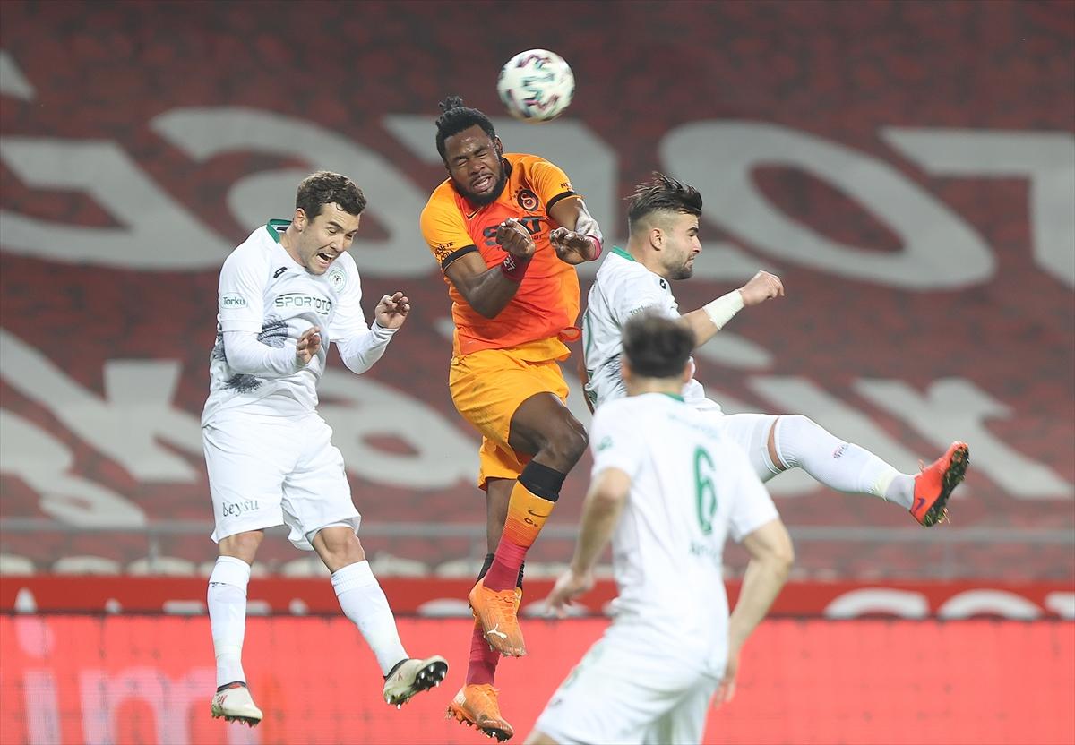 1) Galatasaray, ligde Konyaspor`a karşı 17 yıl sonra kaybetti