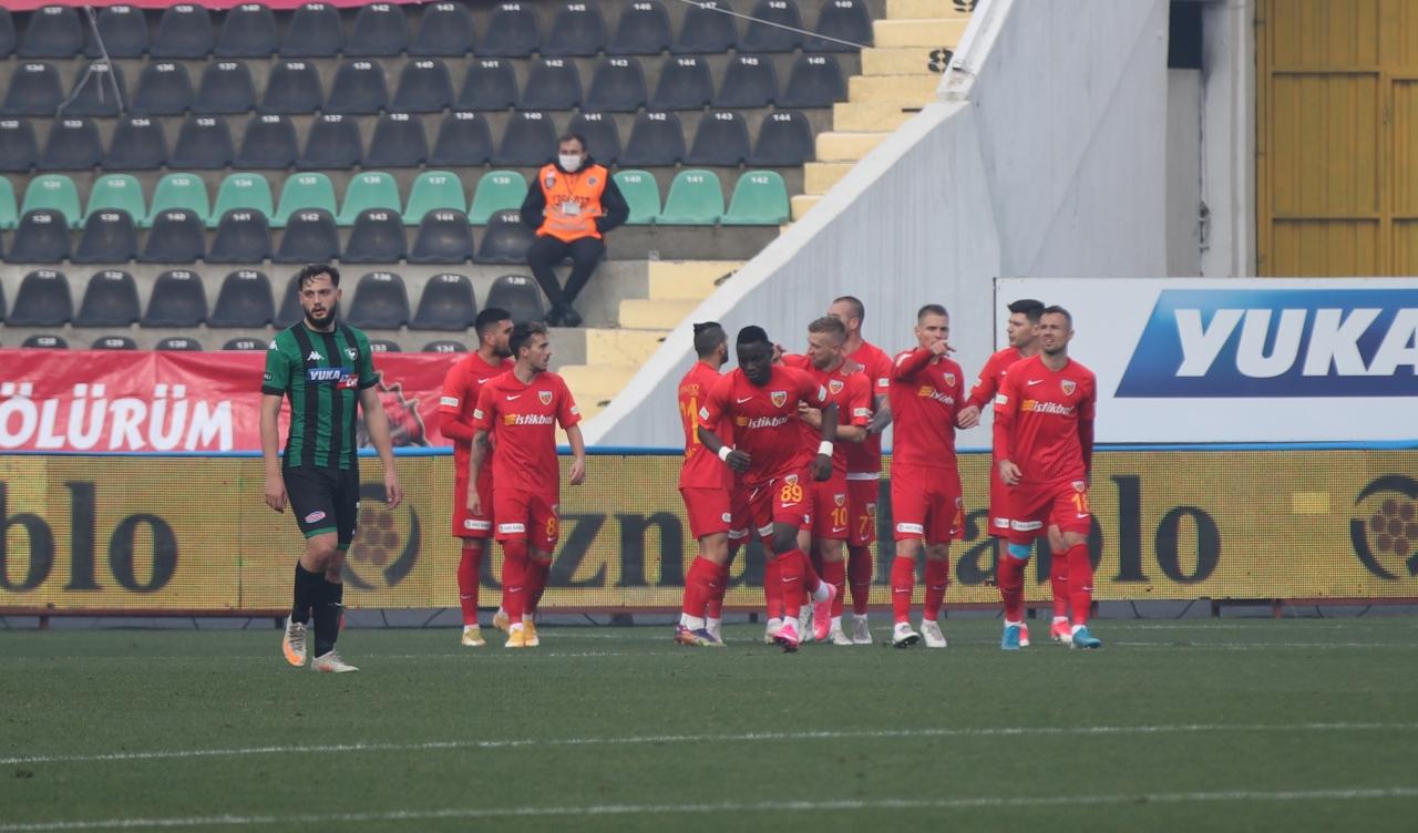 3) Hes Kablo Kayserispor, 11 maç sonra