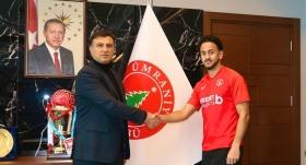 Ümraniyespor, Ahmet Canbaz'ı kiraladı