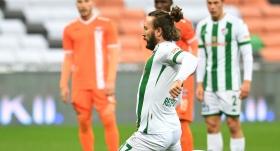 Bursaspor'da tecrübeli oyuncuyla yollar ayrıldı