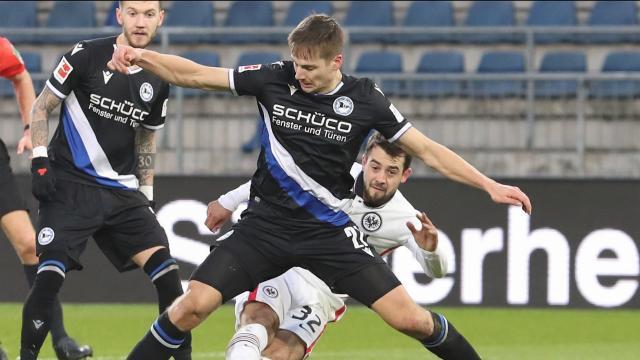 Bundesliga 18. Hafta | A. Bielefeld - E. Frankfurt (özet)