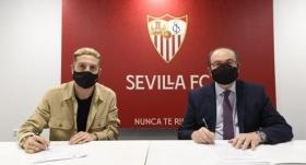 Papu Gomez resmen Sevilla'da