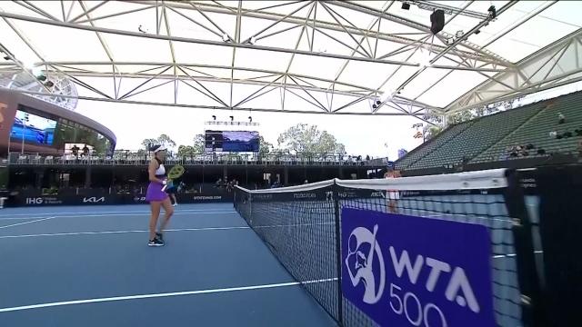 Adelaide Tenis Turnuvası devam ediyor