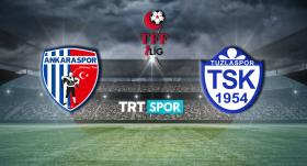 Ankaraspor - Tuzlaspor maçı TRT SPOR'da