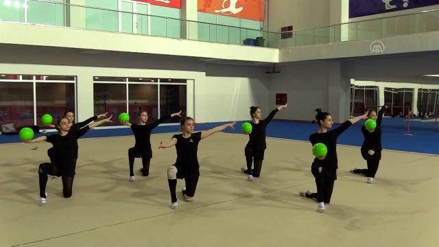 Cimnastikte hazırlıklar sürüyor