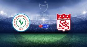 Sivasspor, Çaykur Rizespor'a konuk olacak