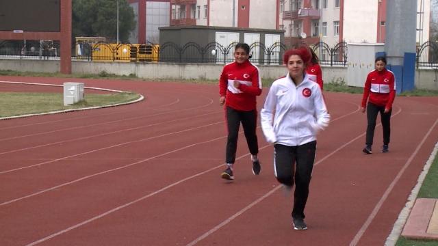 Milli sporcular  hazırlıklarını Samsun'da sürdürüyor