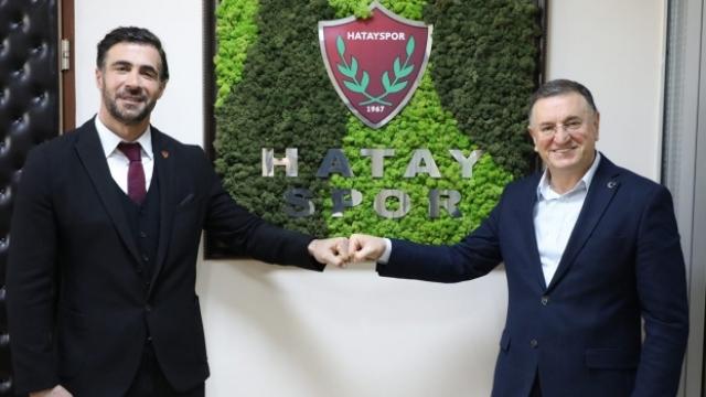 Atakaş Hatayspor, teknik direktör Ömer Erdoğan ile sözleşme uzattı