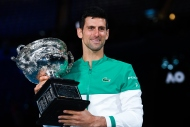 Djokovic Federer'in rekoruna ortak oldu