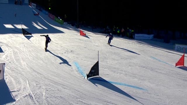 Alp Disiplini heyecanı Slovenya'da yaşandı