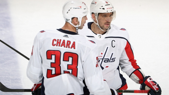 NHL'de Washington Capitals deplasmanda galip