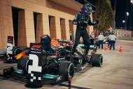 Formula 1'de Bahreyn yarışından objektiflere yansıyanlar