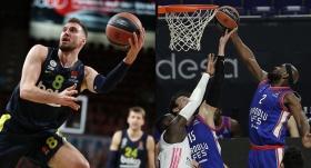 Euroleague'de Türk gecesi : İki Ekibimiz Birden Play-off'ları Garantiledi