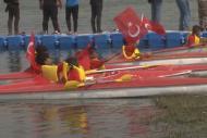 Tel Abyad'da kano heyecanı