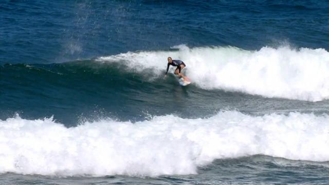 Dünya Sörf Ligi'nde ikinci etab düzenlendi