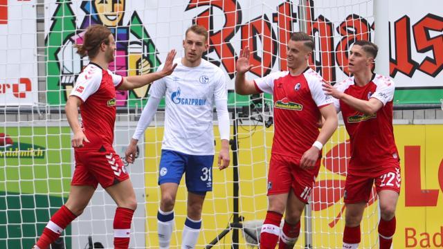 Bundesliga 29. Hafta | Freigburg - Schalke 04 (özet)