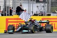 F1'de Emilia-Romagna yarışından objektiflere yansıyanlar