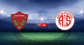 Atakaş Hatayspor'un rakibi Fraport TAV Antalyaspor