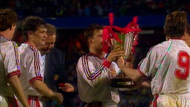 1991 UEFA Kupa Galipleri Kupası Finali | Manchester United -  Barcelona