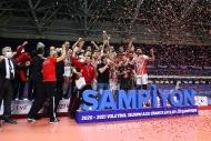 Ziraat Bankkart'ın şampiyonluk sevinci