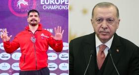 Cumhurbaşkanı Erdoğan'dan Taha Akgül'e kutlama telefonu
